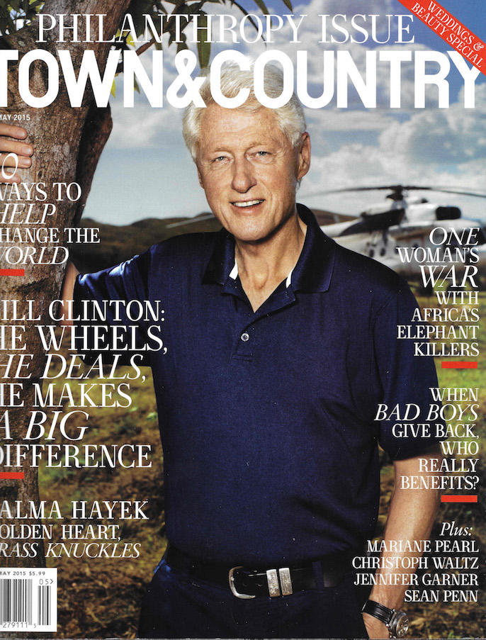 Town & Country May 2015 Cover
