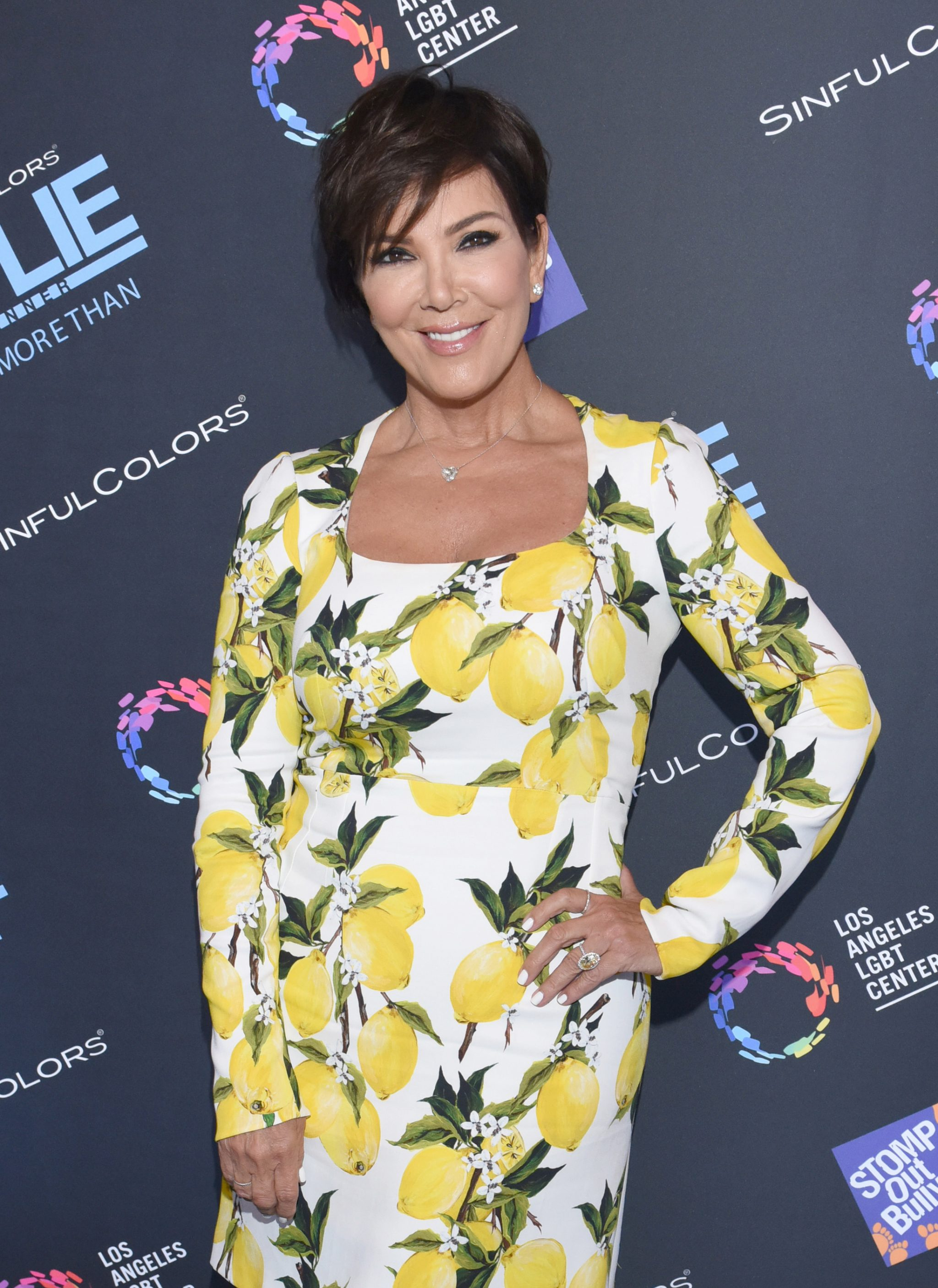 LOS ANGELES, CA - JULY 14:  (EXCLUSIVE COVERAGE) Kris Jenner attends SinfulColors and Kylie Jenner Announce charitybuzz.com Auction for Anti Bullying on July 14, 2016 in Los Angeles, California.  (Photo by Vivien Killilea/Getty Images for SinfulColors)
