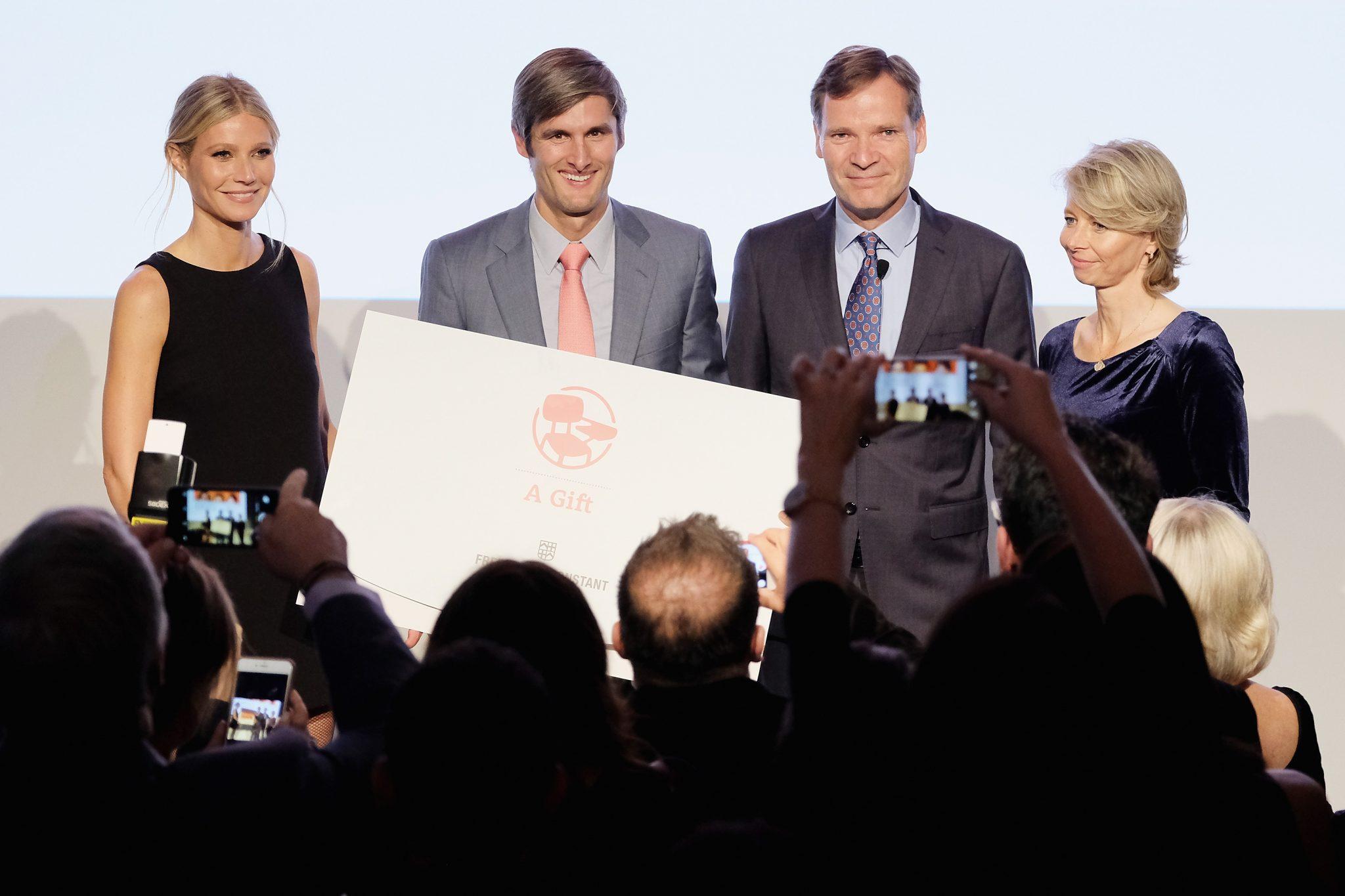 Gwyneth Paltrow, Aletta Stas-Bax, Charles Best, Peter Stas